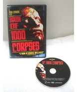 House of 1000 Corpses DVD Rob Zombie Color 88 minutes Perfect Halloween ... - $14.36