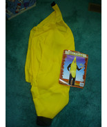 ADULT BANANA HALLOWEEN COSTUME ONE SIZE FITS MOST - $22.50