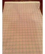 As Seen in the Movie Stranger Things Bill Blass Vintage Plaid Sheet  - $98.01