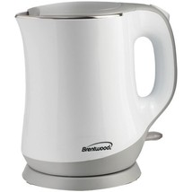 BRENTWOOD KT-2013W 1.3L Cool-Touch Electric Kettle - $38.46