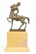 ...Handmade...European Bronze Sculpture Origina... - $236.61