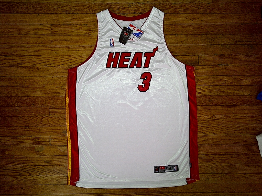 new arrivals 7401a 18b2d Authentic Nike Miami Heat ROOKIE Dwyane and 50 similar items