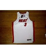 Authentic Nike Miami Heat ROOKIE Dwyane Wade-White/Red/Black Jersey Home 60 - $249.99