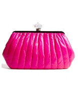By Malene Birger Neon Pink Quilted Kvinta Clutc... - $175.00