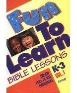 Fun-To-Learn Bible Lessons: K-3 Lingo, Susan L. - $14.80