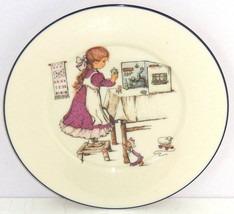 Lenox Special Collector Plate Girl Playing Dollhouse Toys Kitchen Fine China - $59.95