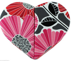 Vera Bradley Hearts to Heart Jewelry Box Cheery Blossoms New  - €43,86 EUR
