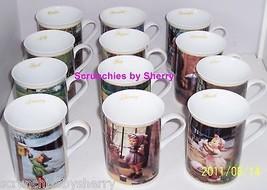 12 Hummel  Porcelain Coffee Mug Jan Feb May June July Nov Dec Mugs Danbu... - $299.95