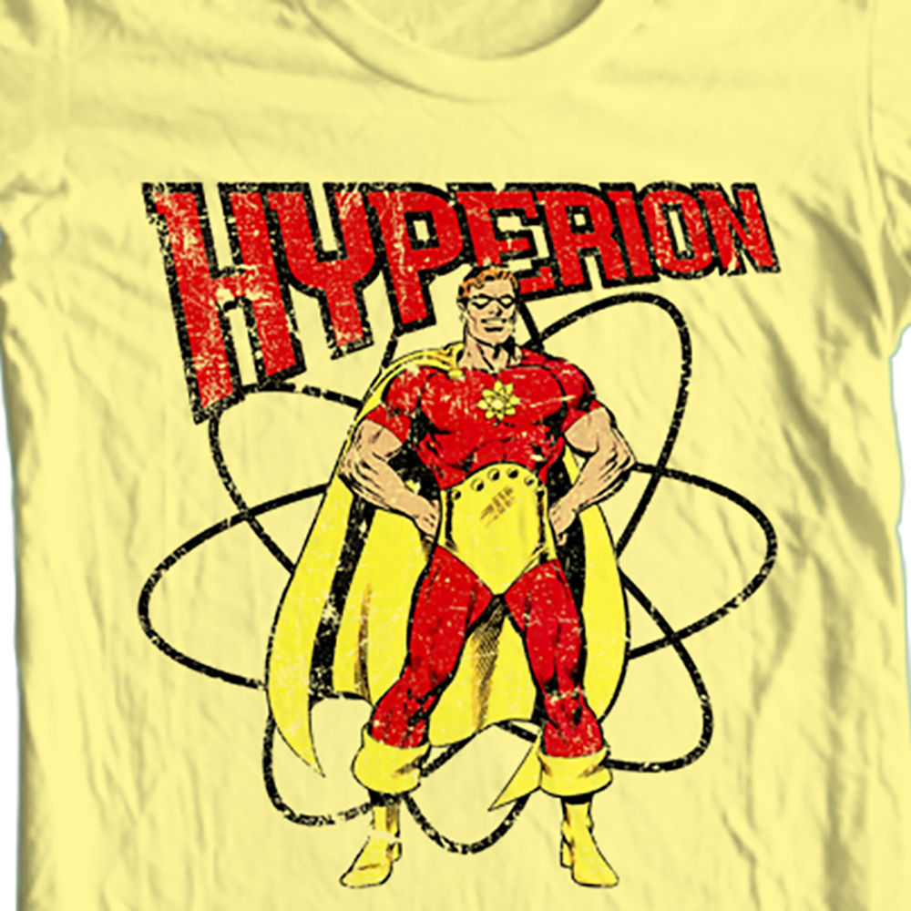 Hyperion marvel  squadron sinister cotton t shirt