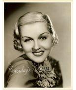 Patricia Ellis Vintage Glamour Elmer Fryer 8x10 Photo - $19.99