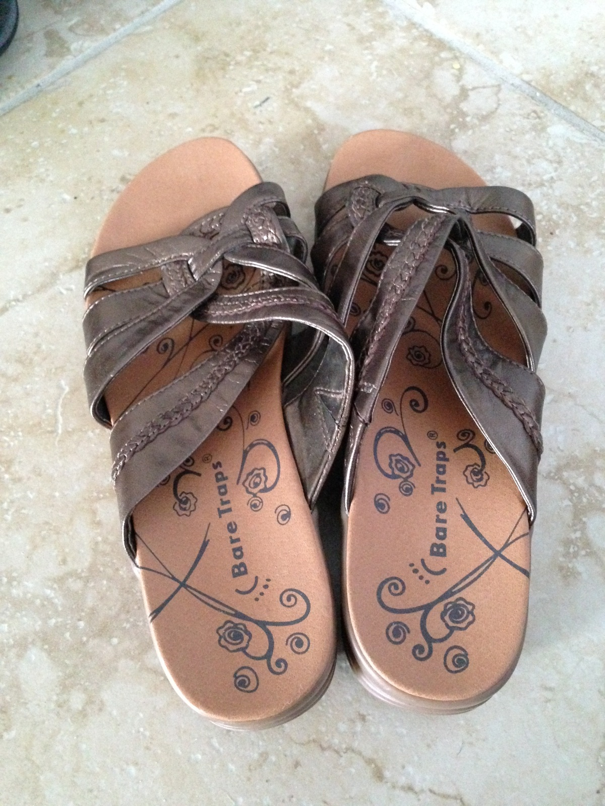 99f94359c7d women s sandals by bare traps size 7.5 medium beautiful condition -  24.99