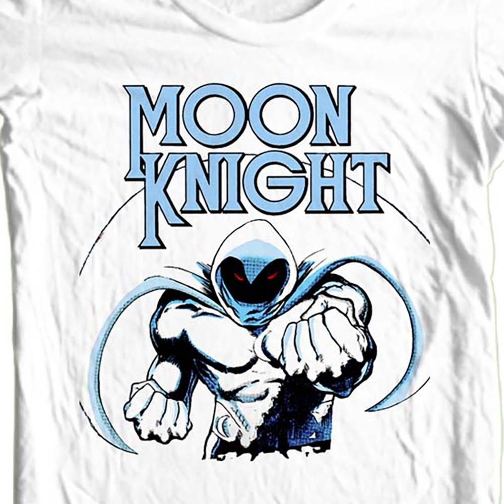 MOON KNIGHT T-shirt retro vintage Bronze Age comic books free shipping