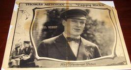 Thomas Meighan Cappy Ricks c.1921 Paramount Lobby Card - $19.99