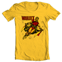 Adam Warlock T-shirt retro vintage Silver Age comic books free shipping cotton  image 2