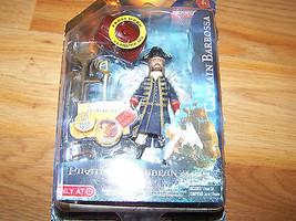 "Disney Pirates of the Caribbean POTC Captain Barbossa Action Figure 4"" J... - $16.00"