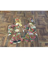 Vintage Chinese Animal Hide Shadow Play Puppets... - $24.75