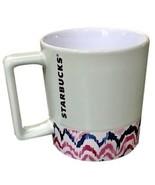 Starbucks Valentine's Hint Of Mint 12 Oz Ceramic Mug 2018 New - $34.95