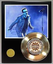 Bono U2 Gold Record Reproduction Signature Series LTD Edition Display - $85.45