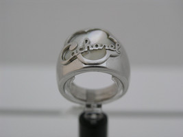 Ring simple with name of Cacharel (CMR238H), Sterling Silver 0,925 - £51.66 GBP