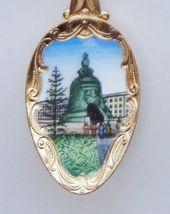 Collector Souvenir Spoon Russia Mockba Moscow Kremlin Tsar Bell Yuri Dol... - $16.99