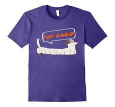Happy Halloweiner T-shirt Dachshund Halloween Dog Men - $17.95+