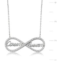 Canm Annem Eternity 925 Sterling Silver Necklace | PT2610044 - $55.17