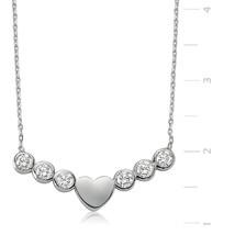Tektas Heart 925 Sterling Silver Necklace - $46.67