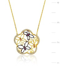 925 Sterling Silver Butterfly Necklace - $55.17