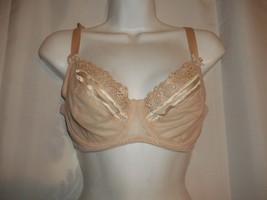 Wacoal Delicate Notion 855162  Full Fit Underwire Bra 34D Nude Discontinued - $24.74