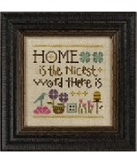 Home Is The Nicest Word There Is S130 cross sti... - $5.40