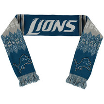 """Nwt Nfl 2016 Lodge (Ugly) Scarf 64"""" By 7"""" Detroit Lions - $20.95"""