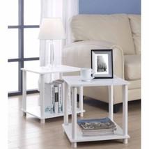 Table Cube Storage Shelf 2 Piece Organizer Furn... - $26.72