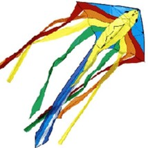 Surefly by New Tech Flying Fish Delta Kite, Winder & String 17....... NT... - $16.99