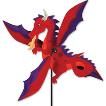 "Dragon Staked Wind 18"" Whirligig Wind Spinner, ... - $56.99"