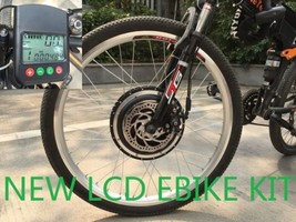 24'' DISC 48V 1000W F Electric Bicycles Kit Conversion Brushless Motors ... - $306.79