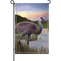 """Sandhill Crane Garden Size Flag (13"""" x 18"""" Appr... - $12.99"""