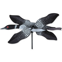"Loon Bird Staked Wind Whirl Wing Bird 19"" Whirl... - $26.99"