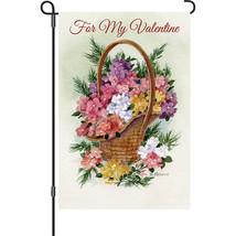 """For my Valentine (12"""" x 18"""" Approx ) Garden Size Flag PR 56208 - $9.99"""