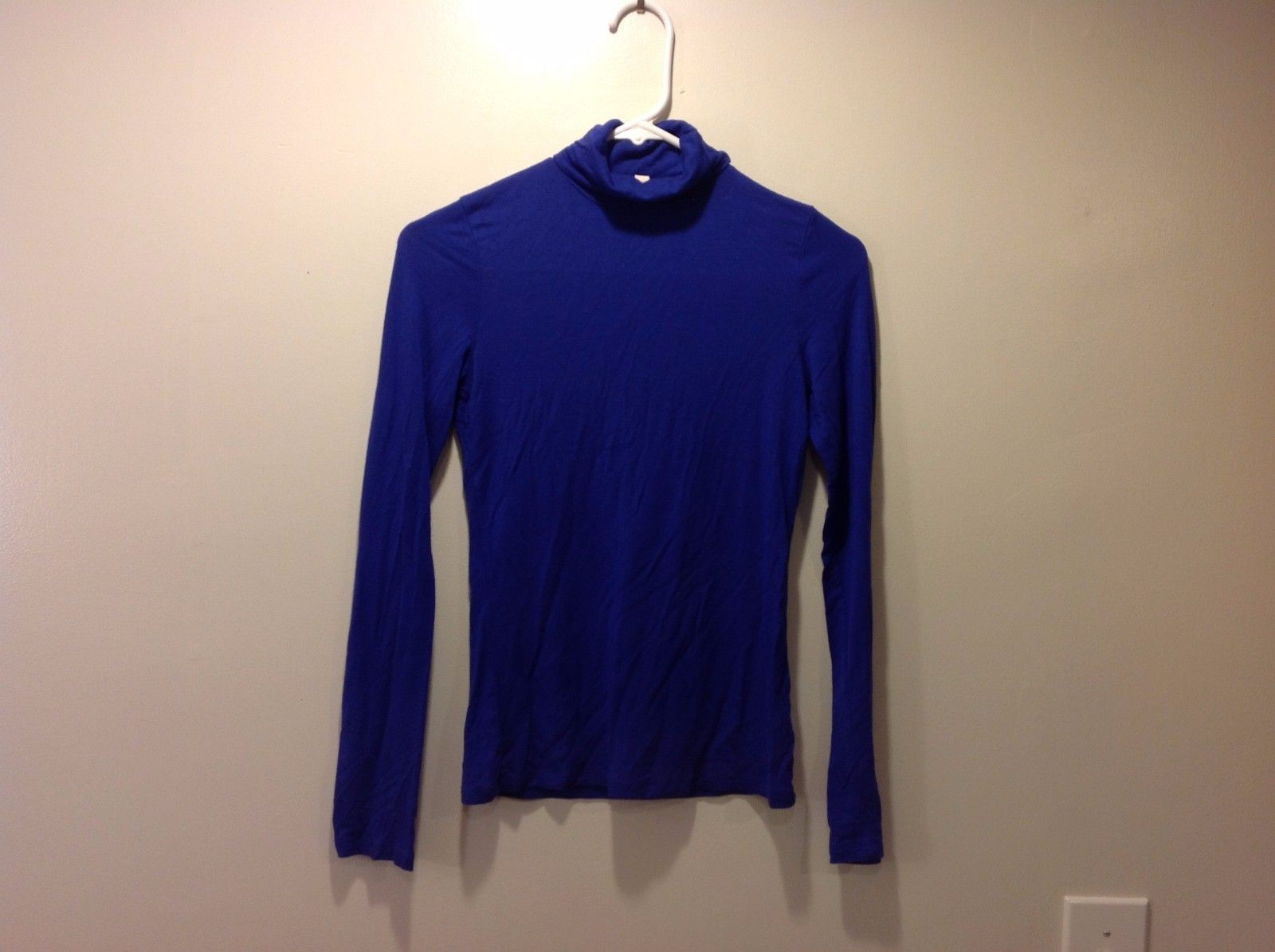 Calkwalk Studia Indigo Long Sleeved Turtleneck Sz Medium