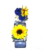 Sunflower Decorated Liquor Bottle Transparent C... - $12.99