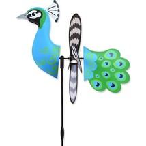 "Peacock 15"" Whirligig Petite Staked Wind Spinner PR 25184 - $18.59"