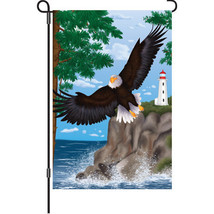 """Simply Stupendous Bald Eagle (12"""" x 18"""" Approx ... - $12.99"""