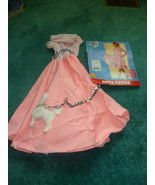 GIRL'S NIFTY FIFTIES HALLOWEEN COSTUME SIZE 8 - 10 - $17.50