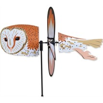 """Barn Owl 18"""" Whirligig Staked Wind Spinner PR 25182 - $19.99"""