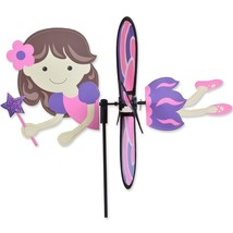 "Pink Fairy 15"" Whirligig Staked Wind Spinner PR 25178 - $19.99"