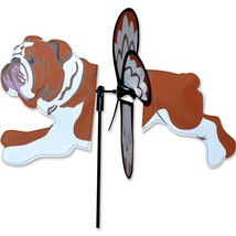 """Bulldog 17"""" Whirligig Petite Staked Wind Spinner PR 25198 - $18.59"""