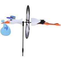 "Stork Boy 22"" Whirligig Petite Staked Wind Spinner PR 25186 - $18.59"