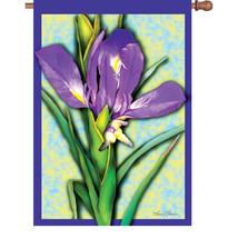 Resplendent Iris Brilliance House Flag PR 52834 - $17.99