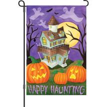 "Happy Haunting (12"" x 18"" Approx ) Garden Size ... - $11.99"