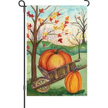 """Pumpkin Wheel (12"""" x 18"""" Approx ) Garden Size F... - $12.99"""